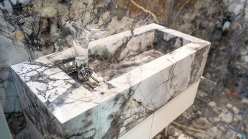 Bluette Bathroom Villa House Bathroom Bluette