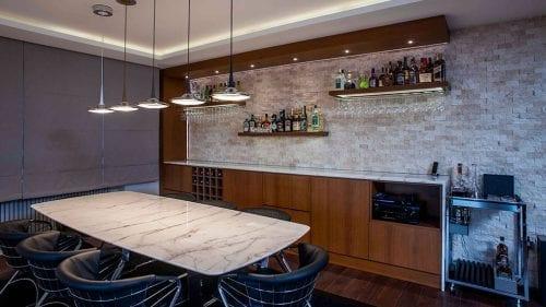 ContemporaryResidence Flooring Table Fireplace Bathroom Residence Kitchen Calacatta Oro TEM 147 Affumicato Crema Extra
